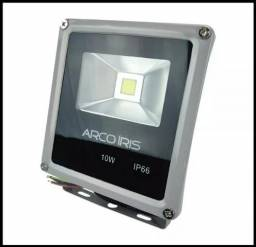 Título do anúncio: Refletor De Led Ip66 10w Bivolt Branco Frio - Mega Infotech Distribuidora