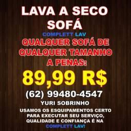 Lavagem a Seco (89,99), Qualquer Sofá