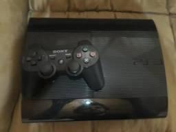 Playstation 3 slim com 12 jogos fisicos, estado de novo !
