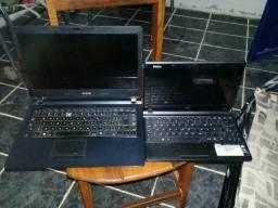 Vendo somente se for os dois , um notebook cce e um netbook philco estão com defeitos