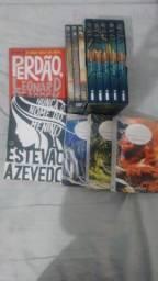 Vários Livros e Dvd