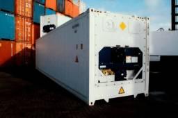 Container refrigerado para supermercados, açougues e similares