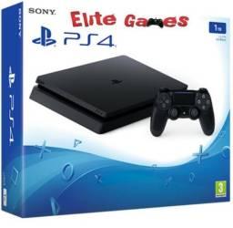 Playstation 4 slim 1TB + 1 controle Garantia 1 ANO(Loja Física) + Jogos