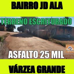 Terreno No Asfalto Escriturado