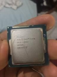 Processador i7 4790 Sem cooler - Usado