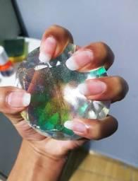 Unhas fibra de vidro