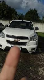 S10 LTZ 2014 Automática 2.8 Diesel bancos em couro ac/ moto - 2014