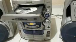 MiniSystem Panasonic 5 CDs