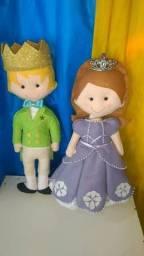 Casal Princesa Sofia e seu irmão
