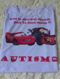 Camisetas Estampadas - escolha os temas