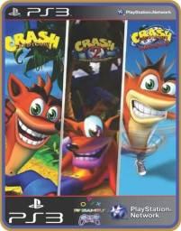 Título do anúncio: Ps3 Crash Trilogia 1,2 e 3