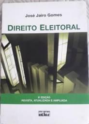 Livro Direito Eleitoral , 8ª Edição , ano 2012, autor José Jairo Gomes