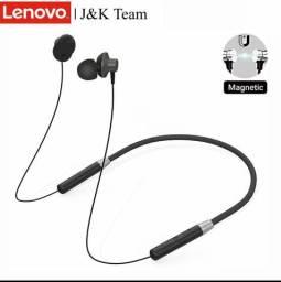 Original lenovo sem fio headsets he05 esporte bluetooth