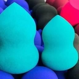 Esponjinhas normais e de silicone
