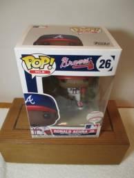 Boneco Funko Pop MLB Ronald Acuña Jr. Atlanta Braves