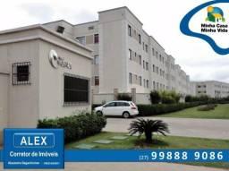 ALX - 45 - Apartamento com Subsídio de até R$ 23.200,00 e F.G.T.S como Entrada ? 2 Quartos