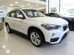 BMW X1 2018 2.0 16V TURBO ACTIVEFLEX SDRIVE20I 4P AUTOMÁTICA BRANCA COMPLETA ÚNICO DONO