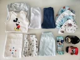 Doação roupas para bebê menino