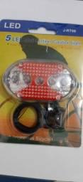 Lanterna Para Bicicleta 5 Leds