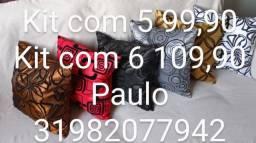 Promoção kit 6almofadas
