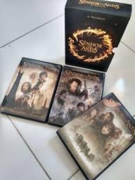Box trilogia senhor dos anéis (colecionador)