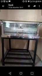 Masseira e forno de pedra refratária