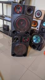 Vendo caixa de som da LG xboom