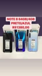 Note 8 64gb/4gb 100% original (lacrados)