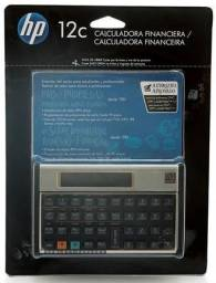 Calculadora HP Financeira 12C Gold *NOVA