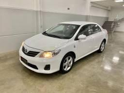 Toyota Corolla 1.8 GLI 16V Branco 2014 Único Dono
