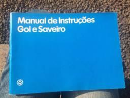 Manual do Proprietário Gol e Saveiro 1987