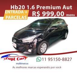 Título do anúncio: HB20 2013/2013 1.6 PREMIUM 16V FLEX 4P AUTOMÁTICO