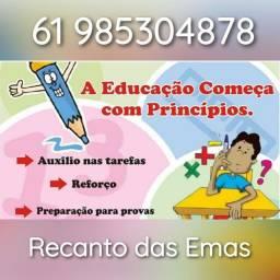 Título do anúncio: Alfabetização de crianças, jovens e adultos e reforço escolar