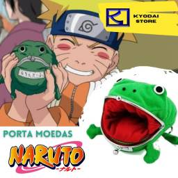 Porta Moedas Naruto