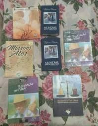 Título do anúncio: Livros usados e alguns novos.Dvds e cds
