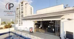 Cobertura duplex à venda 318 m², 3 quartos e 3 vagas por R$ 3.100.000 - Perdizes - São Pau