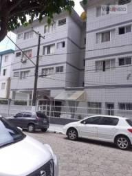 Kitnet com 1 dormitório para alugar, 38 m² por R$ 1.000,00/mês - Vila Guilhermina - Praia