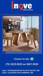 Título do anúncio: Mesas de luxo em promoção cartão ou Crediario