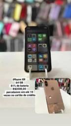 Título do anúncio: Iphone XR 64gb de memória
