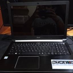 """Notebook Acer Aspire 5 Core i5 7200U 15,6"""" 8GB HD 1 TB"""