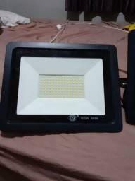 VENDO REFLETORES LED 100W NOVOS!