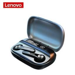 Fone de OUvido Lenovo qt81 tws esportes fones de ouvido estéreo sem fio bluetooth