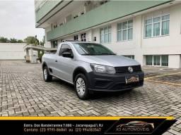 Título do anúncio: Saveiro Robust Completo com GNV 2019 - Muito Novo!