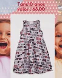 Título do anúncio: Vestido elian tam 10 anos, no valor de 68,00