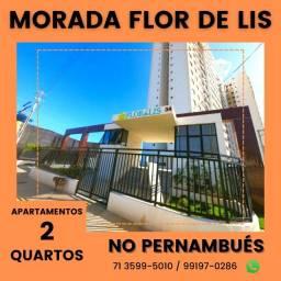 Título do anúncio: Apartamentos 2/4 com suíte Pernambués, Morada Flor de Lis