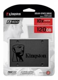 HD sdd 120 Kingston usado funcionando perfeitamente