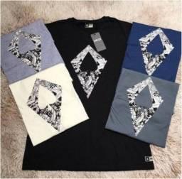 Kit Camisetas Estampadas Premium 100% Algodão Fio 30.1