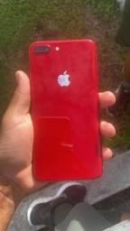 Celular iPhone 8 Plus 64 gigas vermelho