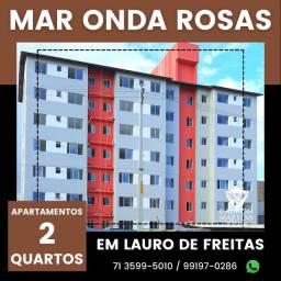 Título do anúncio: Apartamento localizado em Lauro de Freitas, 2/4 em 53m²