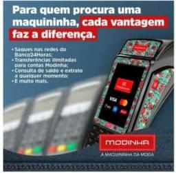 Título do anúncio: Máquina de cartão e conta digital com facilidade.
